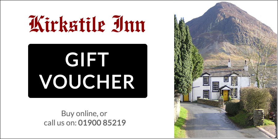 buy a Kirkstile Inn gift voucher