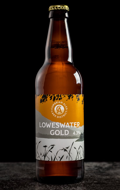 Loweswater Gold Bottles