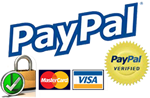 Secure Payments using PayPal